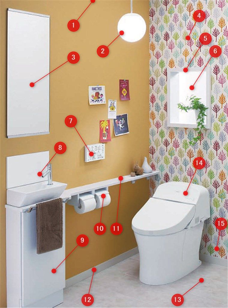 トイレの工事内容