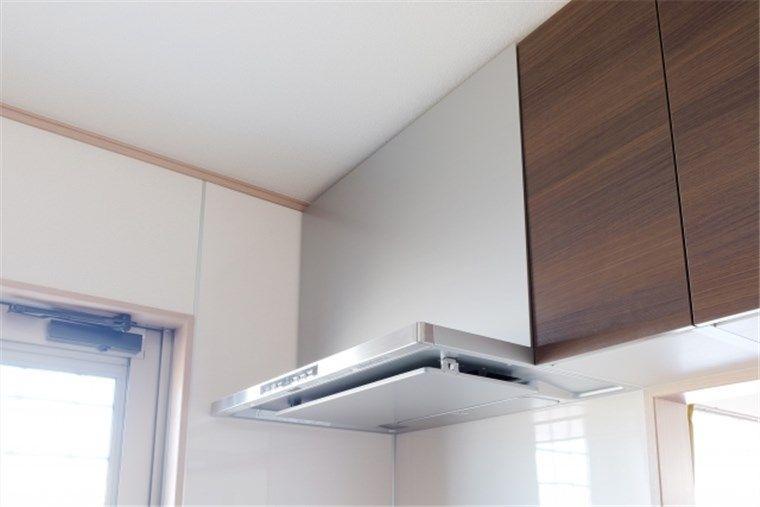 キッチンの換気フード