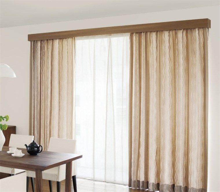 遮光カーテンとカーテンレール