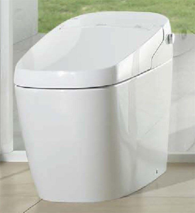 リクシルのトイレはお掃除がしやすい