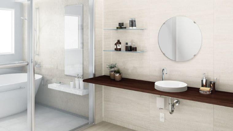 洗面所の壁・天井