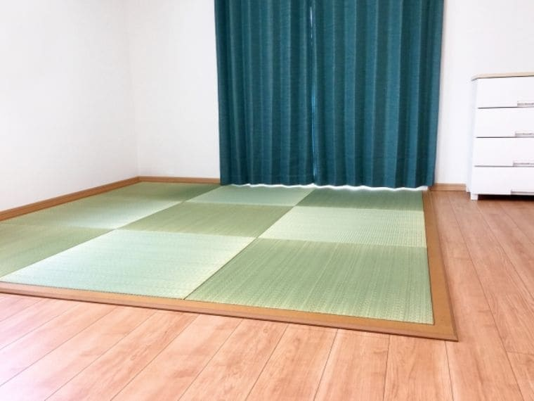 リビングの畳コーナー